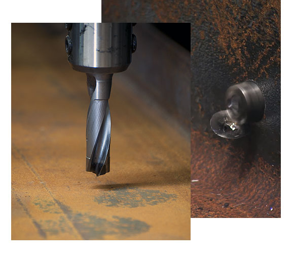 cnc section drilling
